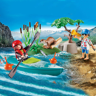 Playmobil Playmobil Starter Pack Park Kayak Adventure