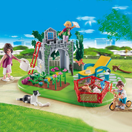 Playmobil Playmobil Super Set Family Garden