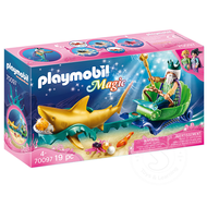 Playmobil Playmobil King of the Sea with Shark Carriage