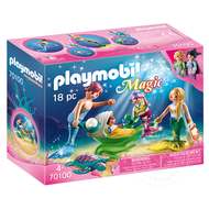 Playmobil Playmobil Family with Shell Stroller