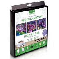 Crayola Crayola Paint-Pour Canvas Art