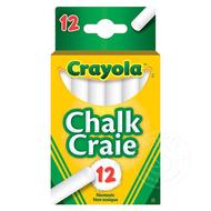 Crayola Crayola White Chalk, 12ct