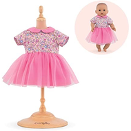 "Corolle Corolle Mon Premier Bebe Dress - Pink Sweet Dreams 12"" Doll Outfit"