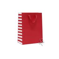"Gift Bag Manhattan Side Stripe 10x13x5"""