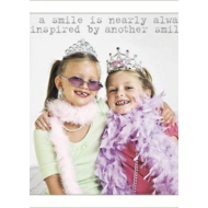 """Life is Sweet - Another Smile (6""""x6"""") Card"""