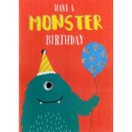 Have a Monster Birthday Card