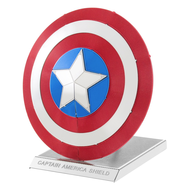 Fascinations Metal Earth Captain America's Shield Model Kit