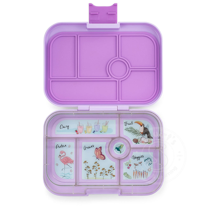 Yumbox YumBox Original 6 Compartment - Lila Purple