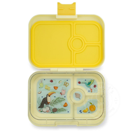 Yumbox YumBox Panino 4 Compartment - Sunburst Yellow