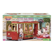 Calico Critters Calico Critters Town Ride Along Tram Train
