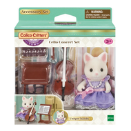 Calico Critters Calico Critters Town Cello Concert Set