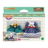 Calico Critters Calico Critters Town Dress Up Set, Blue & Green
