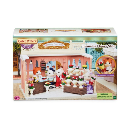 Calico Critters Calico Critters Town Blooming Flower Shop