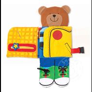 Melissa & Doug Melissa & Doug K's Kids Dress-Up Bear Cloth Book
