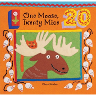 Barefoot Books One Moose, Twenty Mice BB