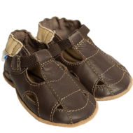 Robeez Robeez Soft Soles Fisherman Sandal Brown