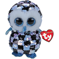 TY TY Beanie Boos Flippables Sequin Topper Med