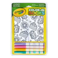 Crayola Color-In Socks Sweet Snacks
