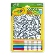 Crayola Color-In Socks Stickers