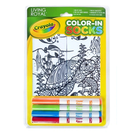Crayola Color-In Socks Under the Sea