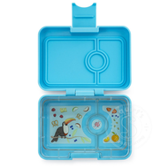 Yumbox YumBox Mini Snack 3 Compartment - Nevis Blue