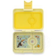 Yumbox YumBox Mini Snack 3 Compartment - Sunburst Yellow