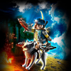 Playmobil Playmobil Novelmore Crossbowman with Wolf