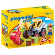 Playmobil Playmobil 123 Shovel Excavator