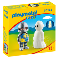 Playmobil Playmobil 123 Knight with Ghost