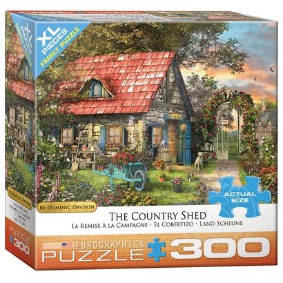 Eurographics Eurographics The Country Shed XL Family Puzzle 300pcs