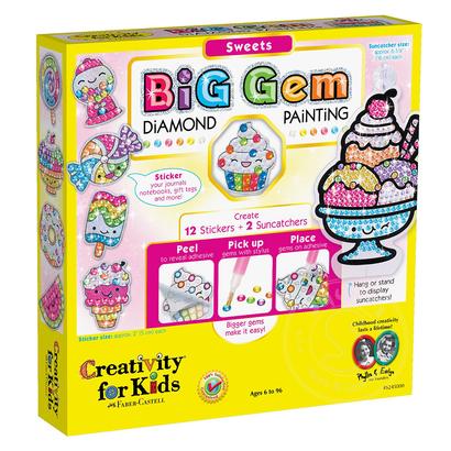 Creativity for Kids Creativity for Kids Big Gem Diamond Painting Sweets
