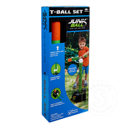 Junk Ball Tball Tee with Bat and Ball
