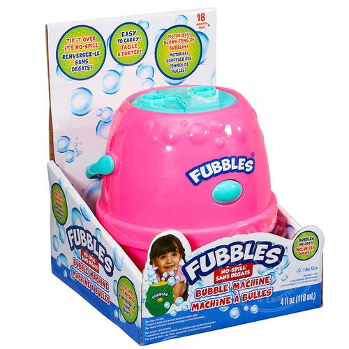 Fubbles No-Spill Bubble Machine