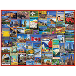White Mountain Puzzles White Mountain Best Places in Canada Puzzle 1000pcs