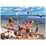 White Mountain Puzzles White Mountain Shell Seekers Puzzle 550pcs