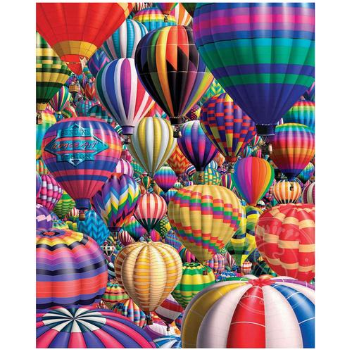 White Mountain Puzzles White Mountain Hot Air Balloons Puzzle 1000pcs