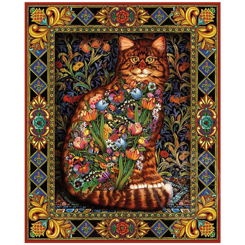 White Mountain Puzzles White Mountain Tapestry Cats Puzzle 1000pcs