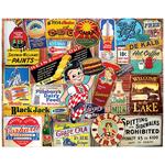 White Mountain Puzzles White Mountain Vintage Signs Puzzle 1000pcs