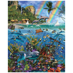 White Mountain Puzzles White Mountain Tropical Treasures - Seek & Find Puzzle 1000pcs