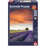 Schmidt Schmidt Field of Lavender, Provence Puzzle 500pcs