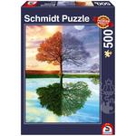 Schmidt Schmidt Seasons Puzzle 500pcs