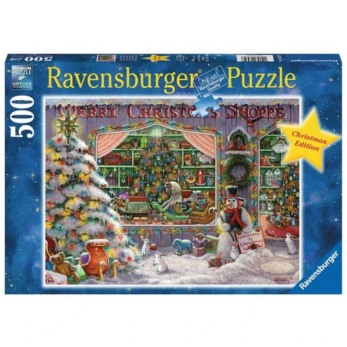Ravensburger Ravensburger The Christmas Shop Puzzle 500pcs