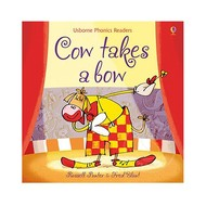 Usborne Books Cow Takes a Bow (Phonics Reader)
