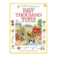 Usborne Books First Thousand Words in English