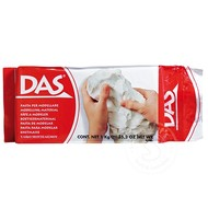 DAS Clay Modelling Material White 1kg