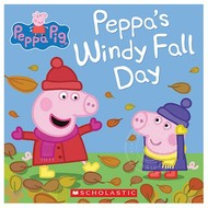 Scholastic Peppa Pig Peppa's Windy Fall Day