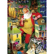 Cobble Hill Puzzles Cobble Hill Santa's Workshop Puzzle 1000pcs