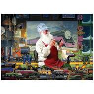 Cobble Hill Puzzles Cobble Hill Santa's Hobby Puzzle 1000pcs