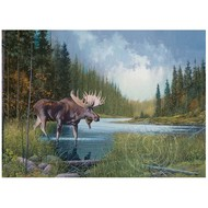 Cobble Hill Puzzles Cobble Hill Moose Lake Puzzle 1000pcs