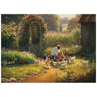 Cobble Hill Puzzles Cobble Hill Feeding Time Puzzle 1000pcs